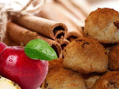 Tastykokos Appel-kaneel kokos cookies