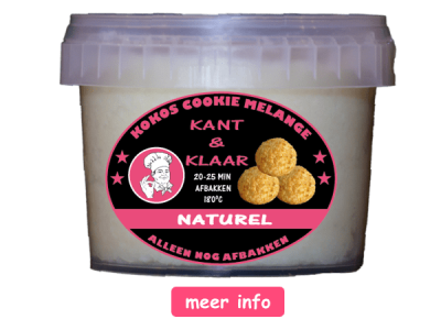Tastykokos naturel cookie melange