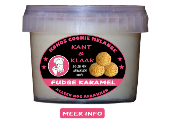 Tasty Kokos Fudge Karamel
